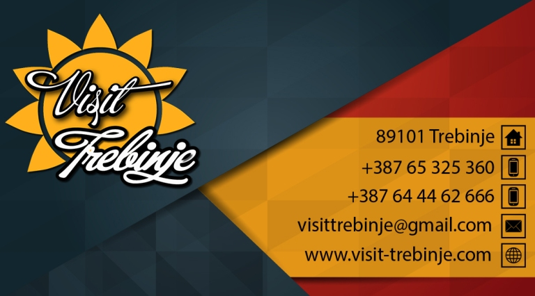 Visit Trebinje Business card